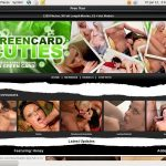 Accounts On Green Card Cuties