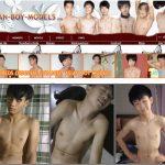 Asian Boy Models One Year