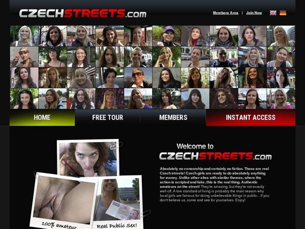 Czech Streets Trial Deal
