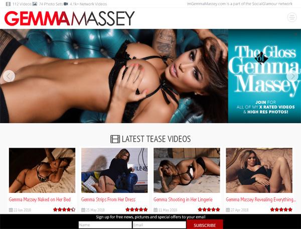 Free Im Gemma Massey Account New