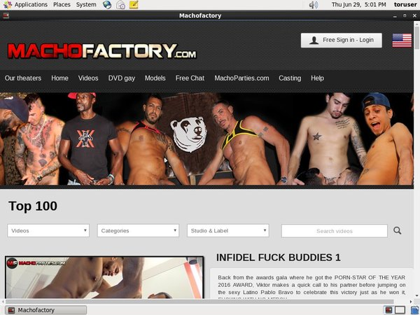 Macho Factory Discount Paypal