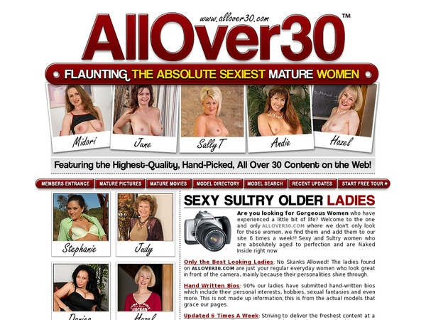 Allover30 Free Trial Pass