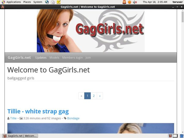Gag Girls Logins For Free