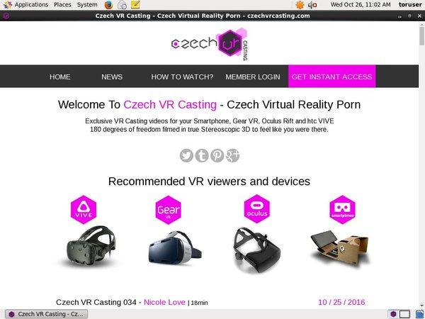 Czech VR Casting Deal