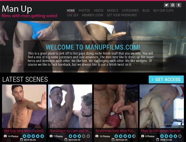 Man Up Films Free Trial Code